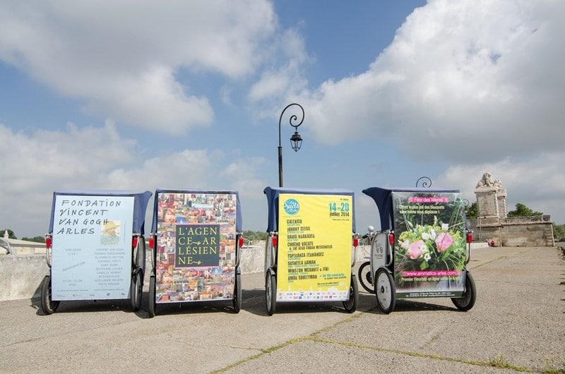 Publicité Arles avec Taco and Co