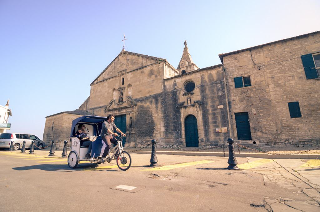 Eglise de la Major.Eglise des gardians à Arles