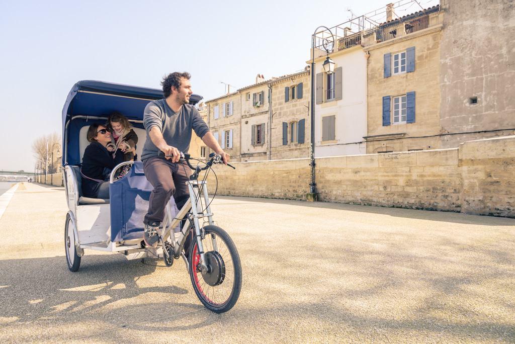 Les quais du Rhône à découvrir en vélo taco