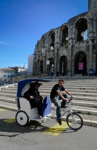 Un tour aux Arênes