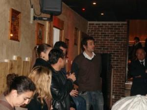 Présentation au bar le Wallabeer