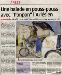 article la provence Arles 13 Mars 2010
