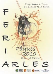 affiche feria arles paques 2010