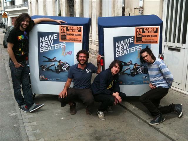 Naive New Beaters au Cargo de nuit le 23 Novembre 2012 à Arles.
