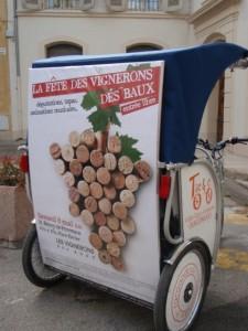 fête des vignerons Baux de provence