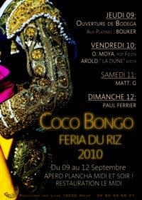 Féria du riz 2010 à Arles et le Coco Bongo