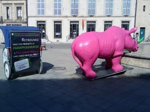 Publicité à Arles: Hyperparapharmacie.com a choisit Taco and Co