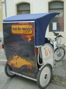 Publicité à Arles: le CG13 s'associe à Taco and co pour la nuit des musées 2010