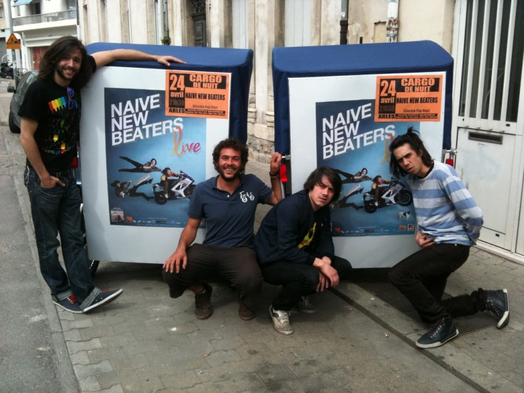 naive new beaters en Taco and co