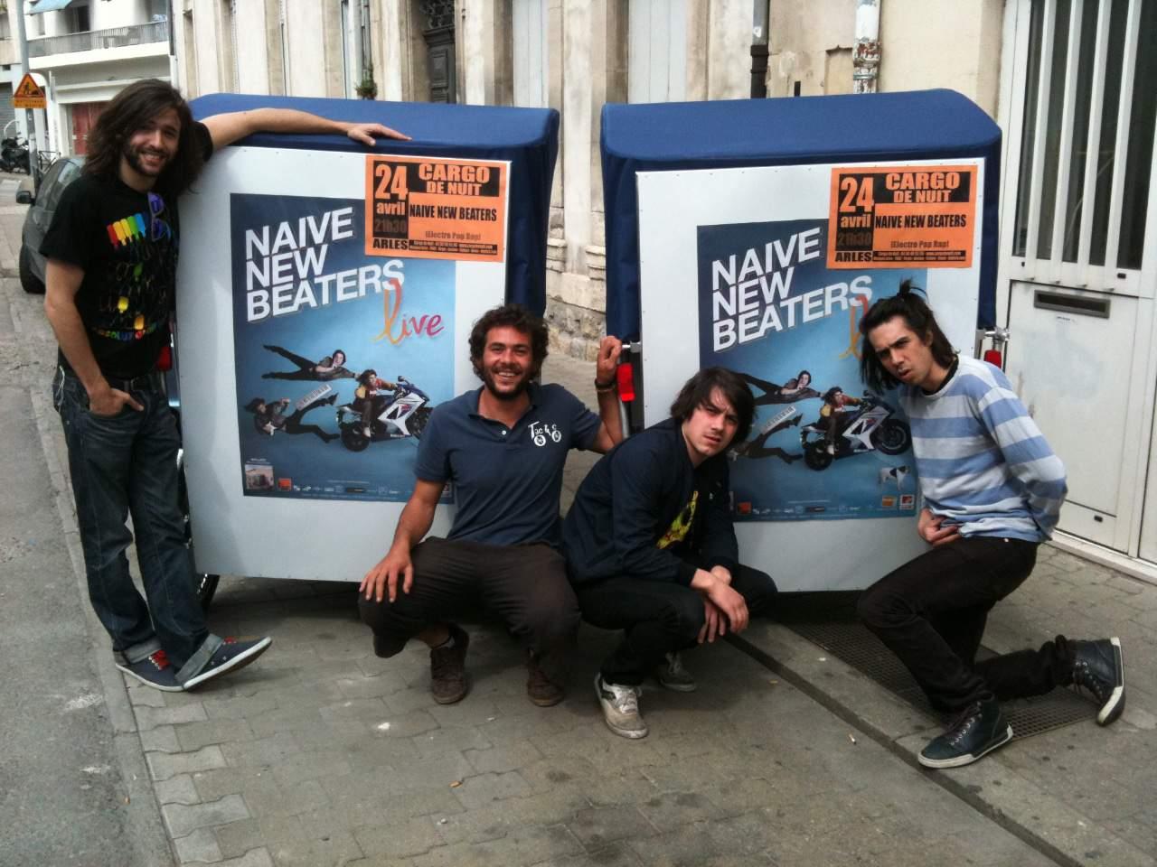 Publicité sur Arles: Partenariat Cargo de nuit