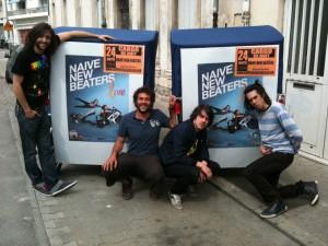 Concert des Naive New Beaters au Cargo de nuit