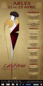 Programme Féria de Pâques 2011 à Arles