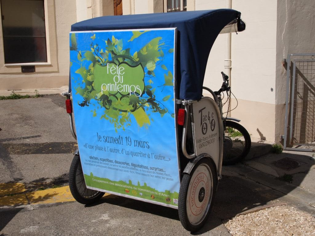 Street Marketing à Arles:Les commerçants fête le Printemps