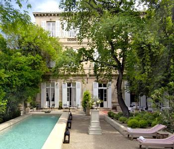 Hôtel cinq étoiles à Arles:l'Hôtel Particulier
