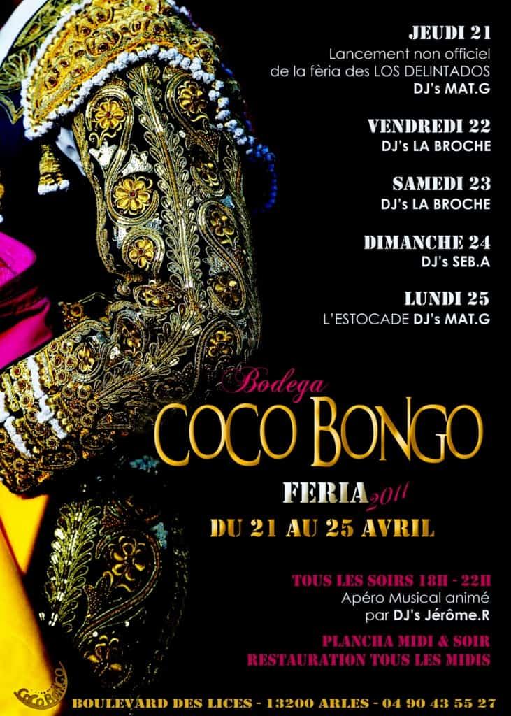 Fèria de Pâques au Coco Bongo à Arles du 22 au 25 Avril 2011