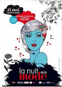 Affiche Nuit de la mode 2011 à Arles