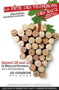La fête des vignerons des Baux, le samedi 28 Mai 2011 à Saint-Remy de Provence