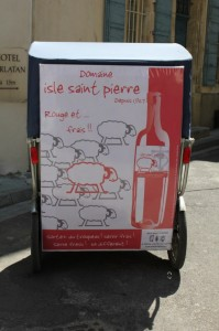 Street marketing: le Domaine de l'Isle Saint-Pierre choisit Tacoandco