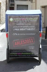 Street marketing: hyperparapharmacie.com choisit Taco and Co