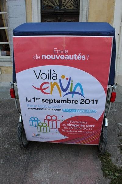 Nouveau réseau Envia à Arles
