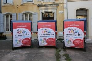 Campagne d'information pour le nouveau réseau Envia