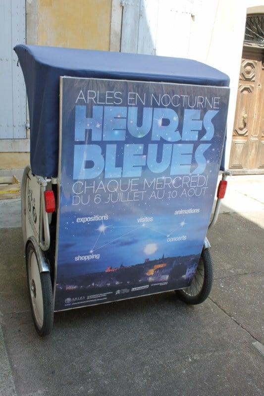 Mercredi 03 Août 2011, 5éme soirée des » Nuits bleues d'Arles».