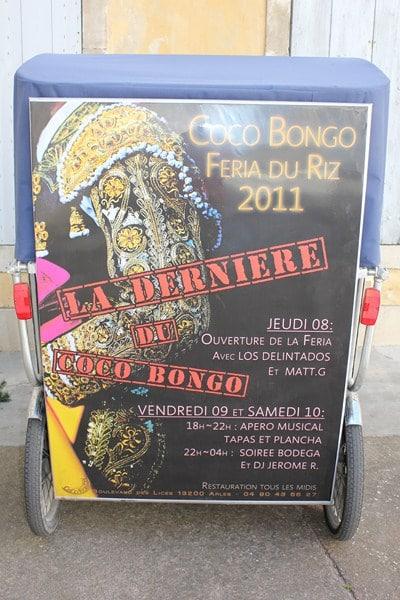 Féria d'Arles 2011, la «Dernière» du Coco Bongo