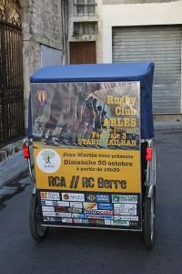 Jean Martin vous présente RCA/Berre le dimanche 30 Octobre à 13h30 au stade Mailhan à Arles.