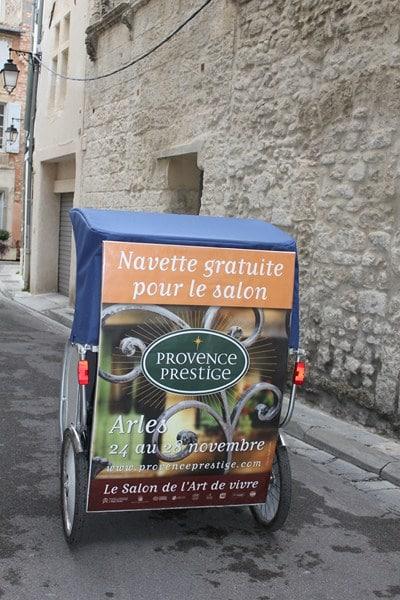 Partenariat Provence Prestige et le Pôle Écologique d'Arles.