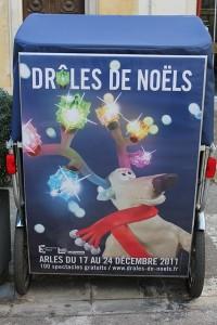 Taco and Co participe au festival «Drôles de Noël 2011» à Arles.