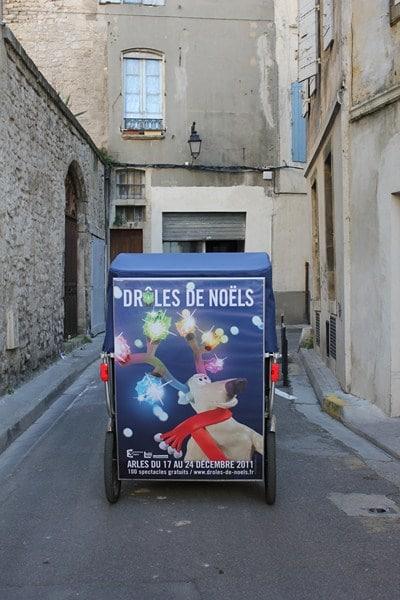 Taco and Co et les Drôles de Noël 2011 d'Arles.