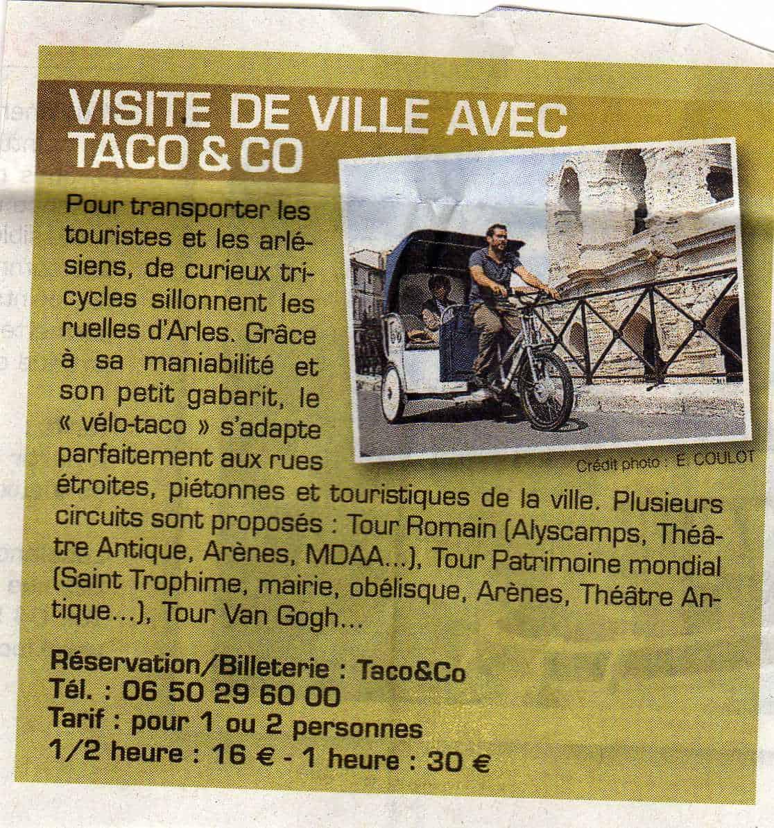 Parution presse du supplément de la Provence consacré aux balades, été 2011