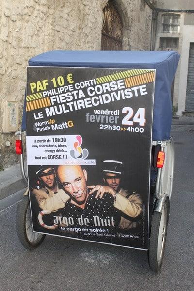 Philippe Corti au Cargo de nuit, le 24 février 2012, à Arles.