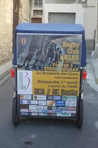 La brasserie des Lices vous invite au stade Mailhan le 1er Avril 2012 à Arles