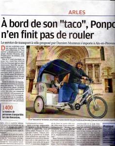 """Article paru le 22/03/2012 dans """"la Provence"""""""