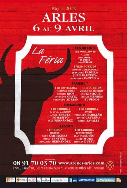 Féria de Paques d'Arles 2012