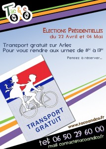 Election Présidentielle 2012 à Arles.
