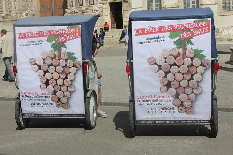 La fête des vignerons des Baux, Samedi 12 Mai 2012 à Saint Rémy de Provence.