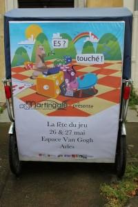 La Fête du Jeu à Arles les 26 et 27 Mai 2012 à l'Espace Van Gogh.