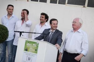 Discours inauguration Pôle Ecologique d'Arles