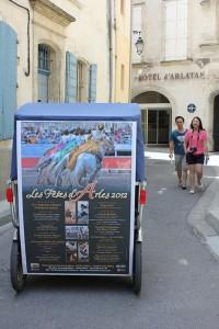 Les fêtes d'Arles en 2012.