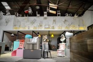Le show-room de l'éco fabrik