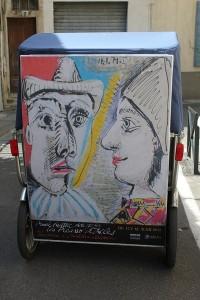 Les Picasso d'Arles et l'invitation à Christian Lacroix au Musée Réattu d'Arles jusqu'au 31/12/2012