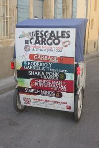Les Escales du Cargo 2012 à Arles