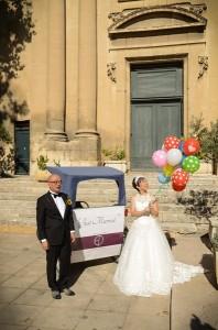 Mariage au Jules César à Arles