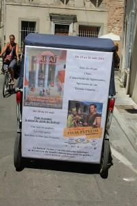 6éme édition du festival «Arelate, journées Romaines d'Arles» du 18 au 24 Août 2012.