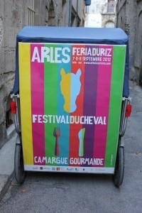 Féria du riz, Camargue Gourmande et Festival du cheval du 7 au 9 Septembre 2012 à Arles.