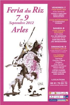 Féria du riz 2012 à Arles: voilà le programme!!