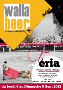 Féria du riz 2012 à Arles: Rendez vous au Wallabeer du 6 au 9 Septembre.