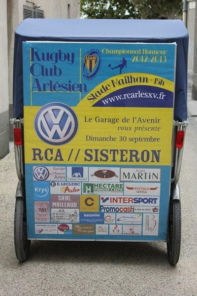 Volswagen vous présente le match RCA/Sisteron le 30 Septembre 2012 au stade Mailhan d'Arles.